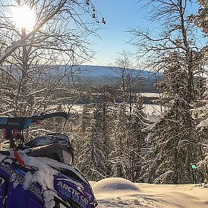 "Arctic Cat Alpha One 154'' & Yamaha SideWinder MTX 153"" Turbo 