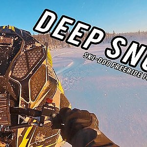 DEEP SNOW! | Ski-Doo Freeride 146 - YouTube