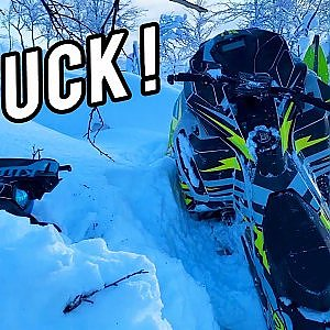 STUCK! | Ski-doo Freeride 146 - YouTube