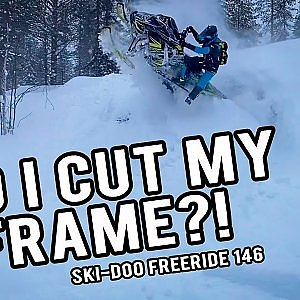 Skinz Airframe Running Boards | 2021 Ski-Doo Freeride 146 - YouTube